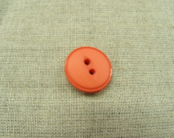 Acrylic button has 2 holes-18 mm light pink