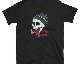 Jesse Pinkman, Breaking Bad inspired smoking skull graphic t-shirt