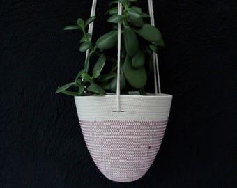 Hanging Planter in Magenta