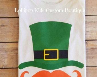 Mustache/Top hat...St. Patrick's Day