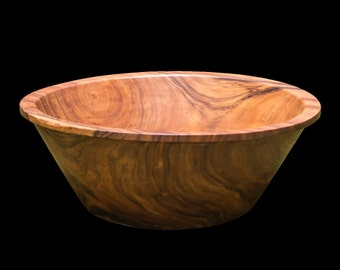 Wooden Bath - 2 person - one solid block of wood from a single tree