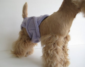 POOCHIE PANTZ lavender female dog diaper, custom made, all sizes