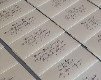 Envelope Calligraphy | Envelope Addressing | Pointed Pen envelope calligraphy | Wedding Envelope Addressing | Custom calligraphy | custom