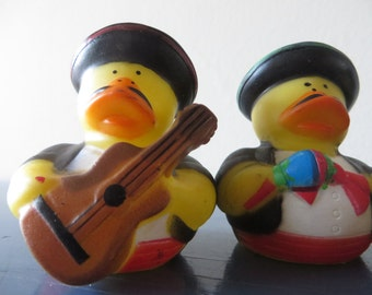 Mariachi Band Rubber Ducks .- Perfect for your Cinqo de Mayo party!