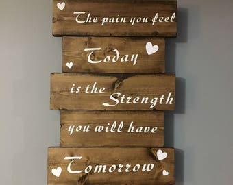 Strength Wall Sign