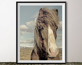 16x20 Horse Print, Horse Photography, Animal Printable, INSTANT DOWNLOAD, Horse Poster, Western Decor, Cowboy Art, Digital Download, Farm