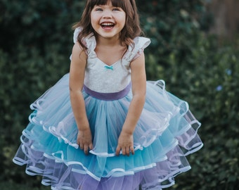 UNICORN dress girls, UNICORN costume, Unicorn party dress, tulle dress girls, unicorn party, unicorn dress toddler, tulle flower girl dress