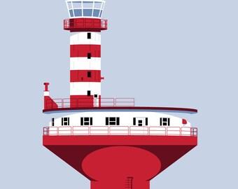 Prince Shoal Lighthouse, PQ