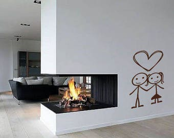 Family Where life begins and love never ends, Family Wall Decal, Love wall decal, Family room wall decal, Family wall decor, wall decal a157