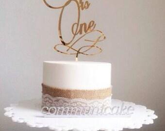 Sofia is One, Birthday, One cake, birthday cake topper, number cake topper, happy birthday cake, gift idea cake name, sweet 16