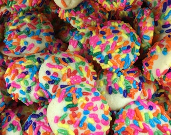 Butter Cookies with Sprinkles