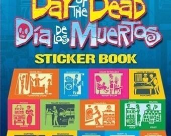Day of the Dead - Dia de los Muertos - Sticker Book