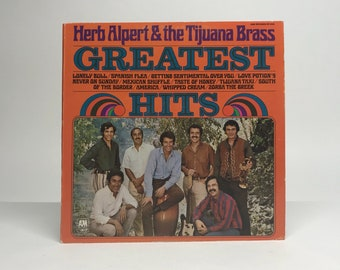 Herb Alpert And The Tijuana Brass, Greatest Hits 1970 LP Vinyl Record 33 Rpm