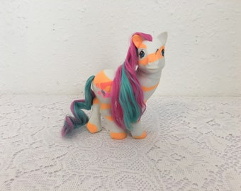 LOVEBEAM, Colour Swirl Pony, Year 10, My Little Pony, vintage G1 My Little Pony, Friendship is Magic