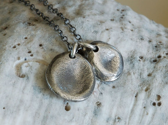 Dad & Me - Fingerprint Jewelry