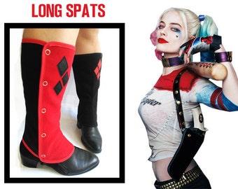 Gaiters Harley Quinn long Spats