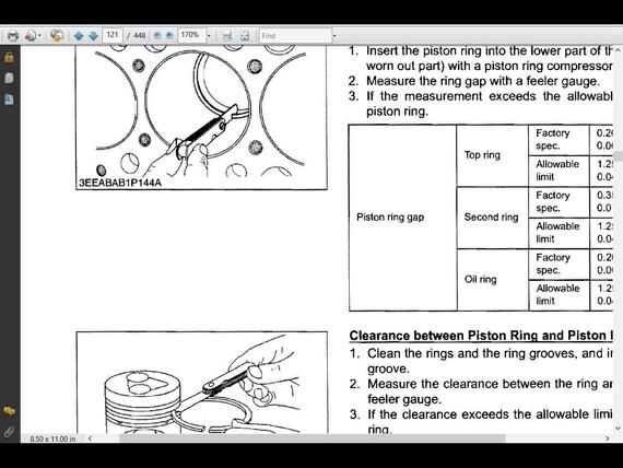 kubota bx25 workshop service manual 435pg for bx 25 tractor rh etsy com kubota l3010 glow plug wiring diagram Kubota Wiring Diagram Online