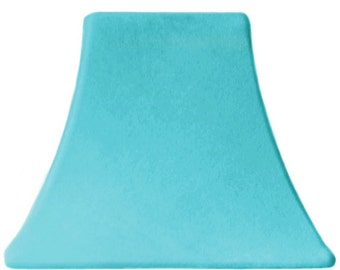 Aqua Velvet   SLIP COVERS For Lampshades