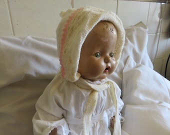 Antique Horsman Composition Baby Doll