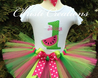 ONE In A Melon First Birthday, First Birthday Girl, Watermelon First Birthday, Tutti Frutti Birthday Party, Watermelon Party