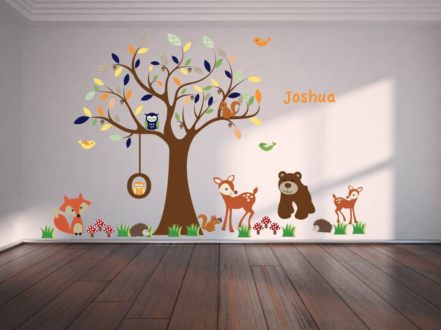 Baum-Aufkleber Vinyl Wand Aufkleber Ast Kinderzimmer