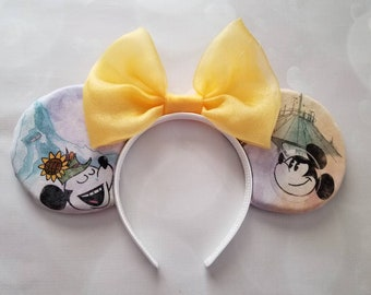 Disneyland Mountains Mickey ears