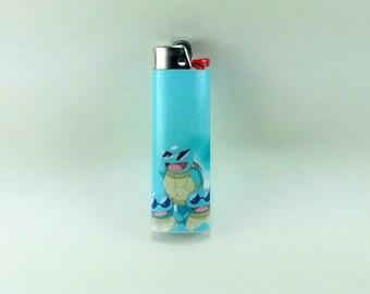 Custom Pokemon Squirtle's in Sunglasses Lighter