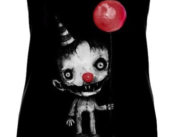 Nibbles the Clown Shirt WOMENS TANK