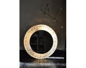 vintage wall lamp with mirror