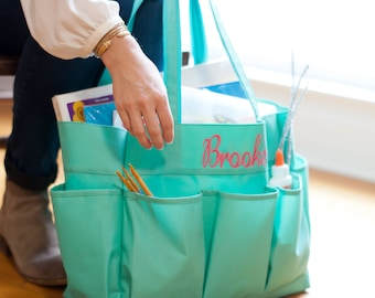 Monogrammed Carry All Bag