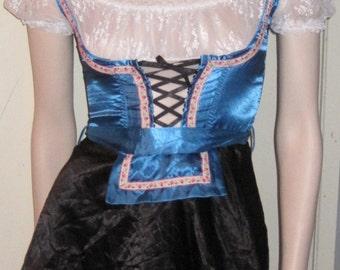 Friedrich von HOLLYWOOD Bier Dienstmädchen Fräulein Kostüm XS