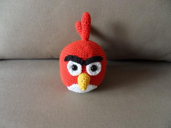 Angry Birds Rote Angry Bird Häkeln Angry Birds Amigurumi