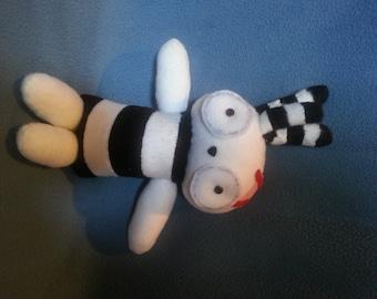 Lenore The Cute Little Dead Girl Inspired Ragamuffin Doll