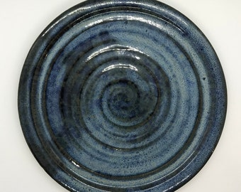 Large Serving Plate - Blue