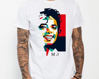 retro michael jackson shirt