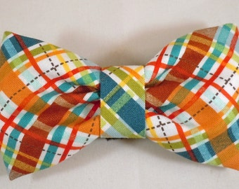 Dog Flower, Dog Bow Tie, Cat Flower, Cat Bow Tie - Lil' Biasplaid