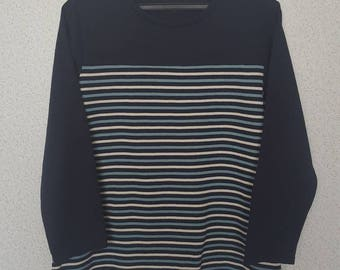 Vansport striped sweatshirt