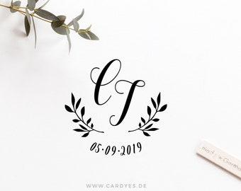 Wedding monogram • Personalized Design • Wedding logo • DIY wedding
