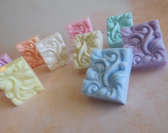 Wave Soaps - Soap Wedding Favors - Beach Soap - Ocean Soap - Ocean Wave - Ocean Wave Soap - Nautical Soap - Elegant Soap - Decorative Soap