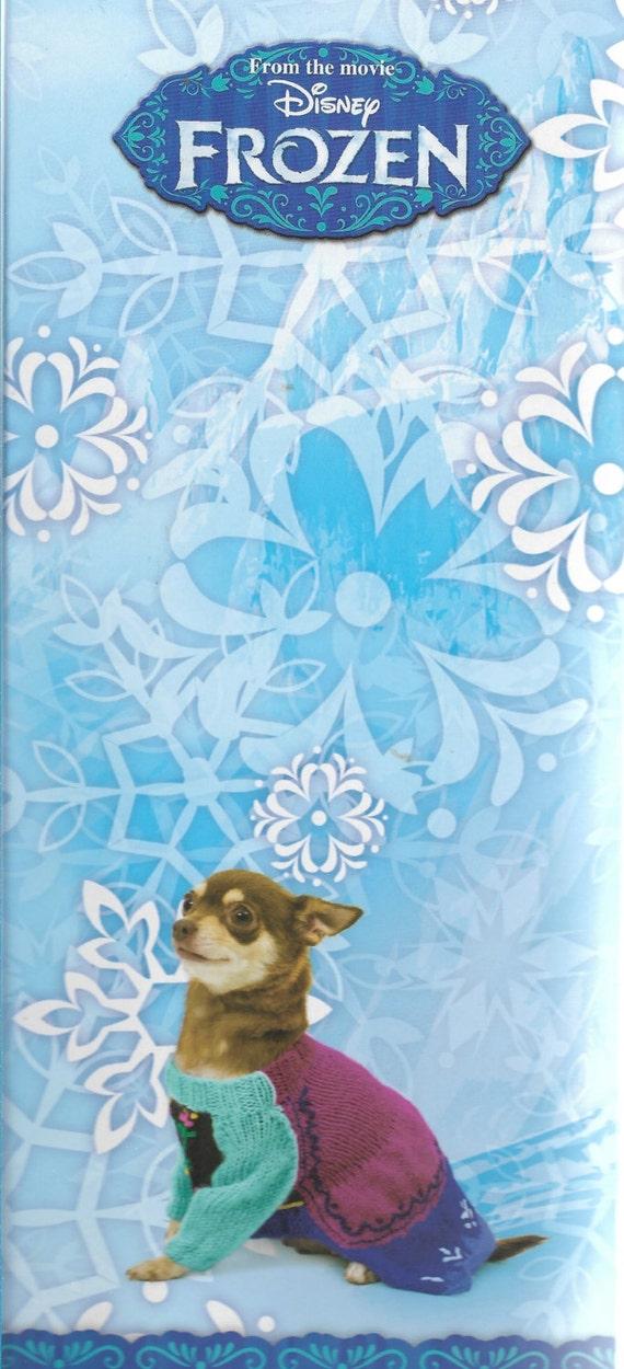 Disney Die Eiskönigin Anna Kleid Hundemantel stricken Kit für