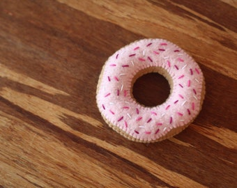 Felt food - felt donut - pretend play
