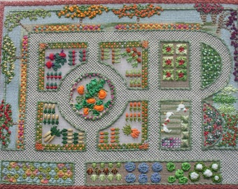 On Line Class - Potager - A Walled Vegetable Garden and Orchard
