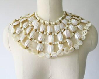 RARE! WILLIAM DELILLO 1960s Cleopatra Necklace