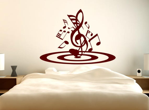 3D Music Wall Decal Graphic by Artncut