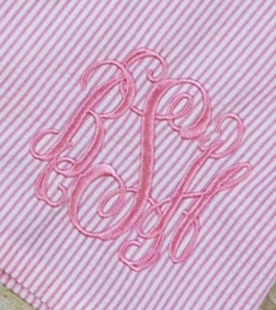 Intervine 3 letter Monogram Add on
