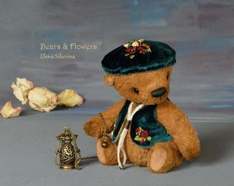 Artist teddy bear, OOAK. Robert.