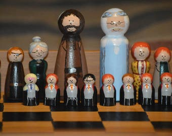 Harry Potter 2-Player Chess Set