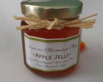 Apple Jelly/ 4 or 8 oz/ Organic