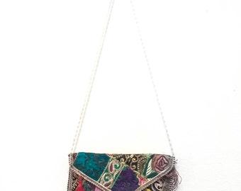 Indian Colorful Stitch Purse