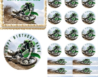 Dirt bike cake Etsy